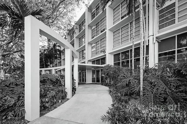 Photograph - University Of Miami Eaton Residential College by University Icons