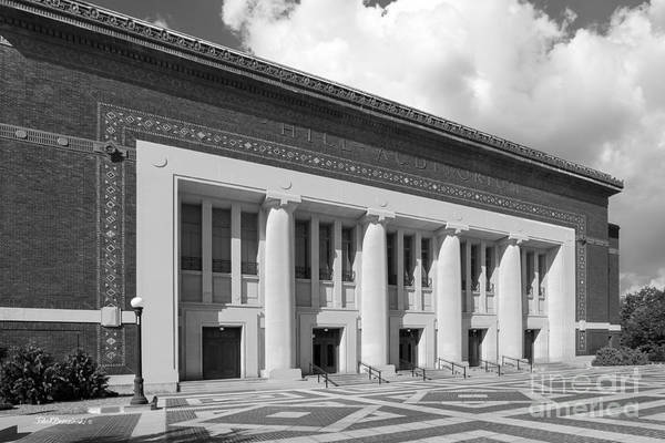 Photograph - University Of Michigan Hill Auditorium by University Icons