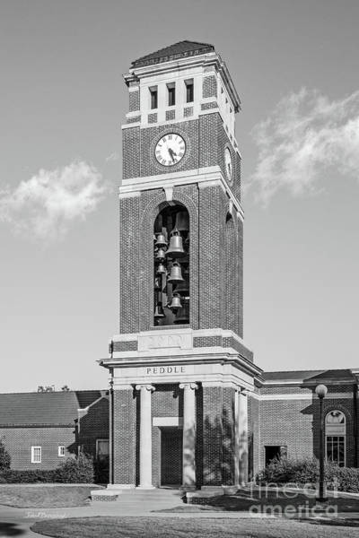 Photograph - University Of Mississippi Peddle Bell Tower by University Icons