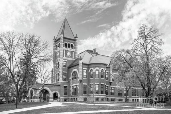Photograph - University Of New Hampshire Thompson Hall by University Icons