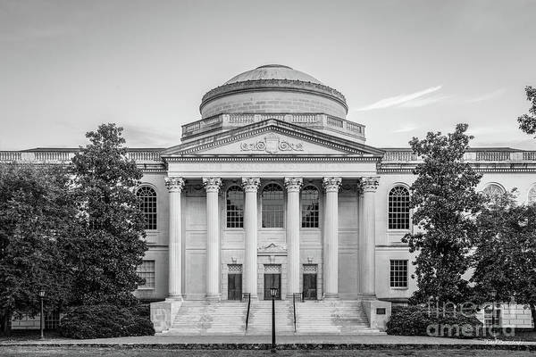 Photograph - University Of North Carolina Chapel Hill Wilson Library by University Icons