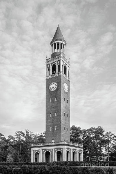 Photograph - University Of North Carolina Morehead Patterson Bell Tower by University Icons