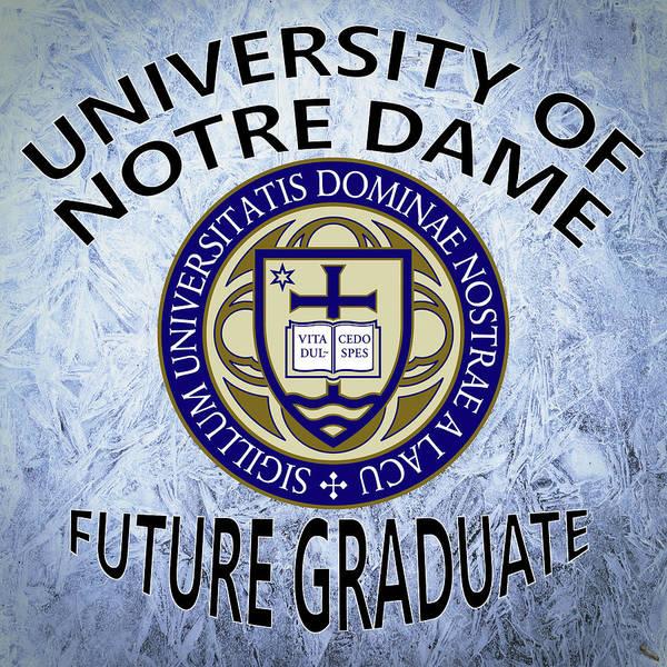 Digital Art - University Of Notre Dame Future Graduate by Movie Poster Prints