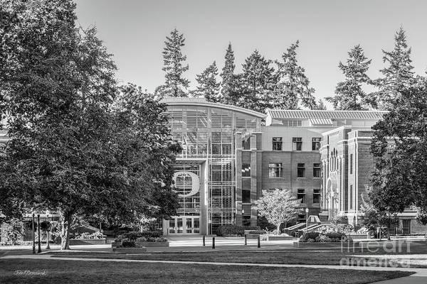Photograph - University Of Oregon Lillis  by University Icons