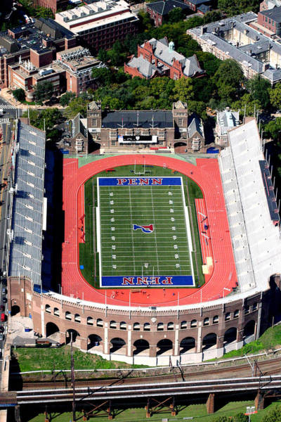 Flying Eagle Photograph - University Of Pennsylvania Franklin Field S 33rd Street Philadelphia by Duncan Pearson