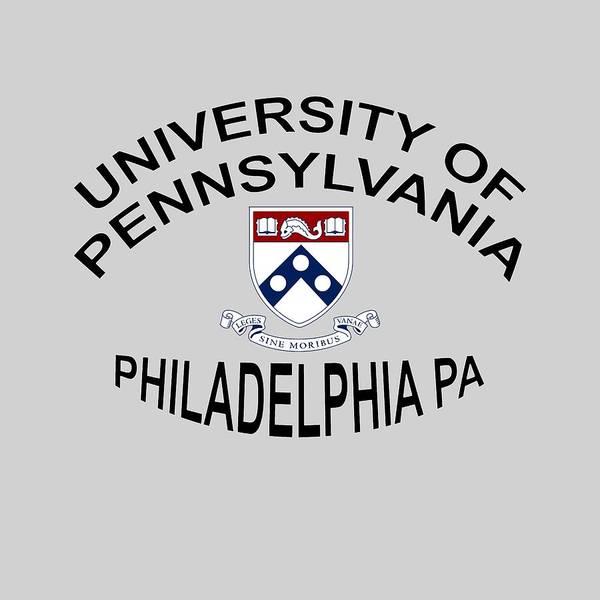 Digital Art - University Of Pennsylvania Philadelphia P A by Movie Poster Prints