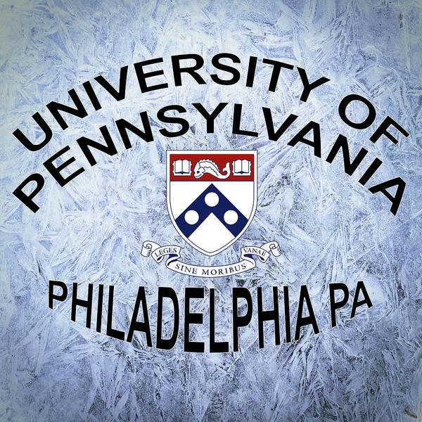Digital Art - University Of Pennsylvania Philadelphia Pa. by Movie Poster Prints