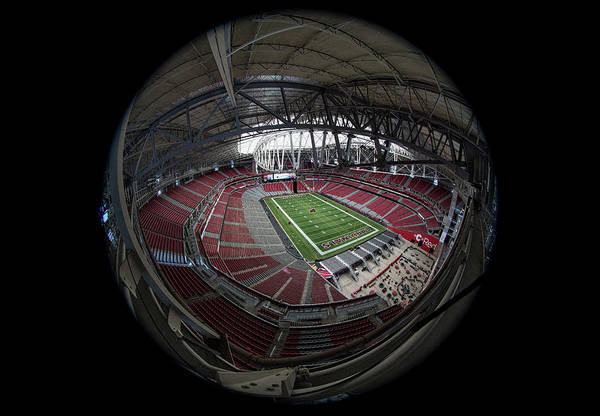 Fiesta Photograph - University Of Phoenix Stadium by Robert Hayton