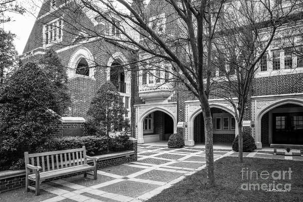 Photograph - University Of Richmond Garden Of Five Lions by University Icons