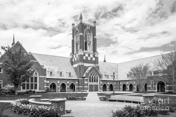 Photograph - University Of Richmond Jepson Hall by University Icons