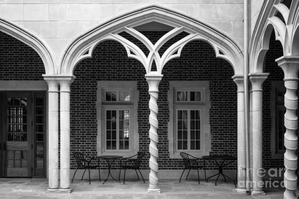 Photograph - University Of Richmond Weinstein Courtyard by University Icons