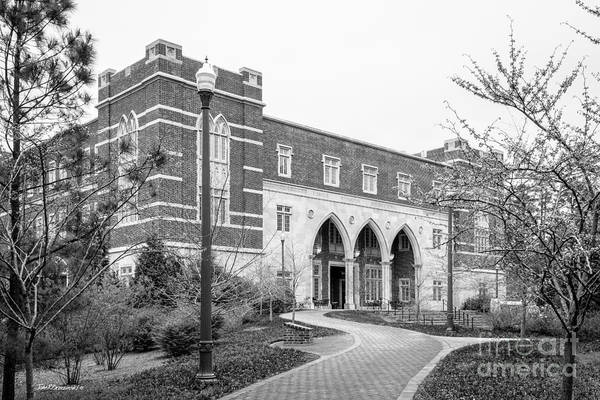 Photograph - University Of Richmond Weinstein International Center by University Icons