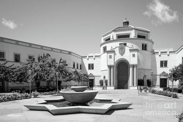 California Mission Photograph - University Of San Diego Kroc School Of Peace by University Icons