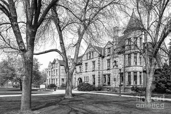 Photograph - University Of South Dakota East Hall by University Icons