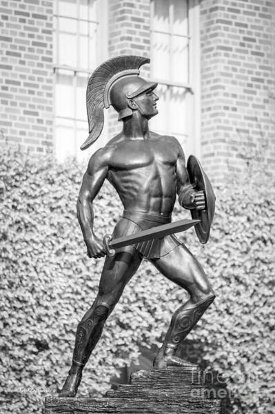 University Of Southern California Tommy Trojan Statue Art Print
