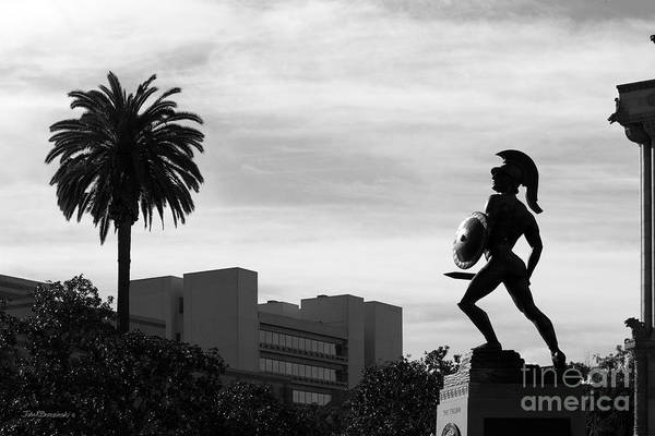 Photograph - University Of Southern California Tommy Trojan by University Icons