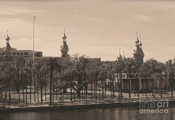 Photograph - University Of Tampa With Old World Framing by Carol Groenen