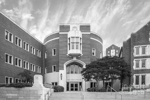 Law School Wall Art - Photograph - University Of Tennessee School Of Law by University Icons
