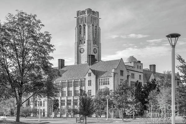 Photograph - University Of Toledo University Hall by University Icons