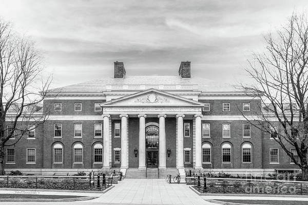 Photograph - University Of Vermont Waterman Building by University Icons
