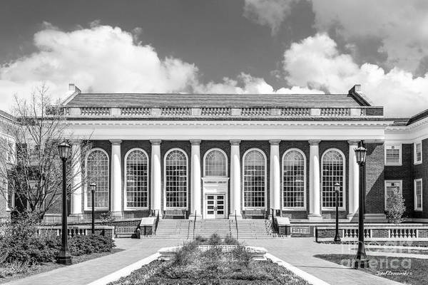 Photograph - University Of Virginia Alderman Library by University Icons