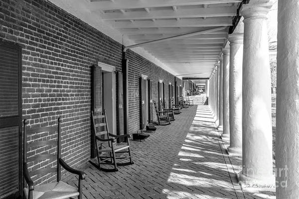 Photograph - University Of Virginia The Lawn Rooms by University Icons
