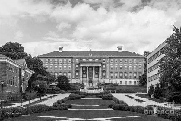 Photograph - University Of Wisconsin Madison Agricultural Hall by University Icons