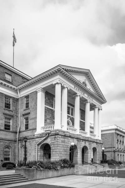 Photograph - University Of Wisconsin Madison Bascom Portico by University Icons