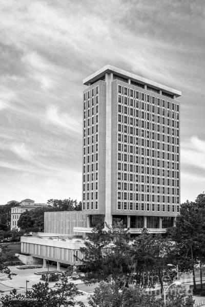 Photograph - University Of Wisconsin Madison Van Hise Hall by University Icons