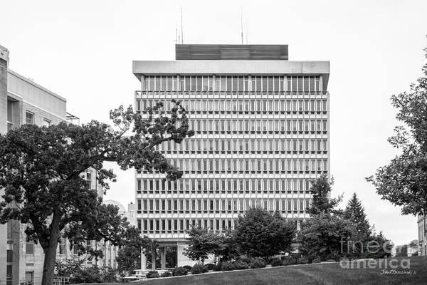 Photograph - University Of Wisconsin Madison Van Vleck Hall by University Icons
