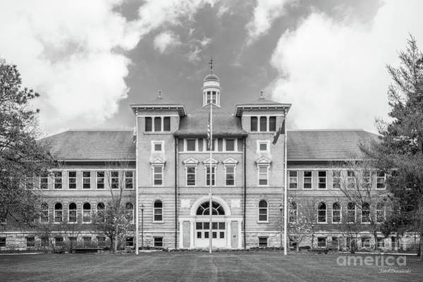 Photograph - University Of Wisconsin Stevens Point Old Main by University Icons