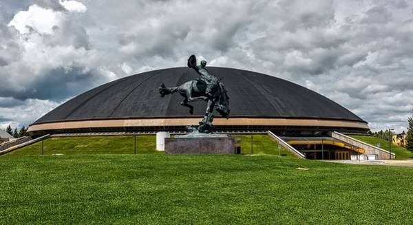 Laramie Photograph - University Of Wyoming Sports Arena by Mountain Dreams