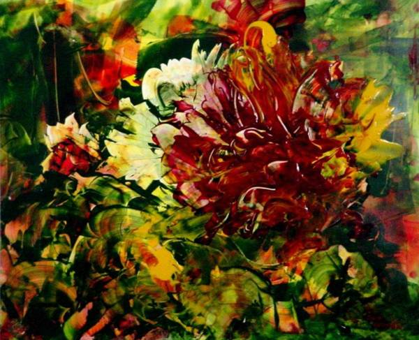 Painting - Unknown Flower by Sue Nelson