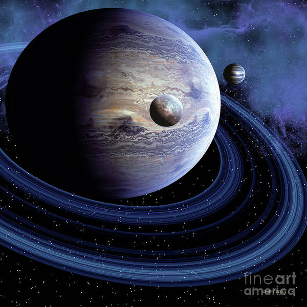Wall Art - Painting - Unknown Planet by Corey Ford