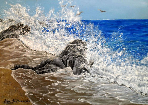 Wall Art - Painting - Unlimited Energy by Faye Anastasopoulou