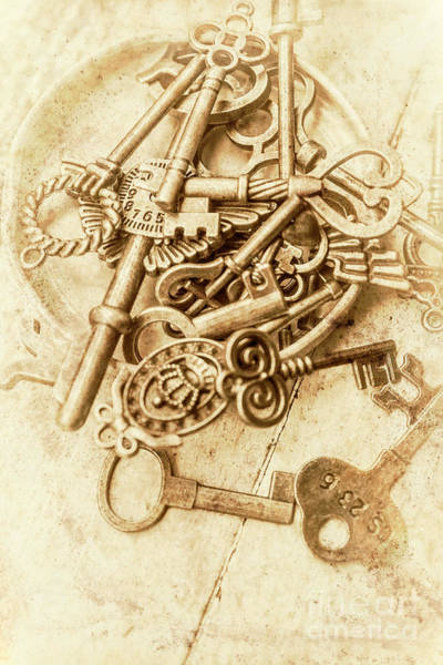 Old-fashioned Photograph - Unlocking The Past by Jorgo Photography - Wall Art Gallery