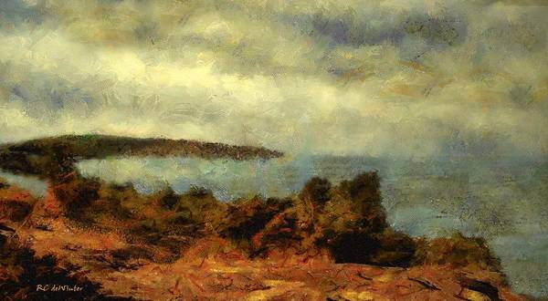 Painting - Unpredictable Sky by RC DeWinter
