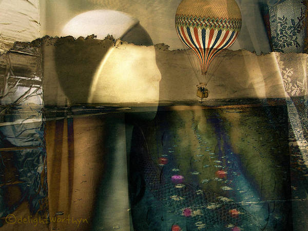 Digital Art - Unsinkable by Delight Worthyn