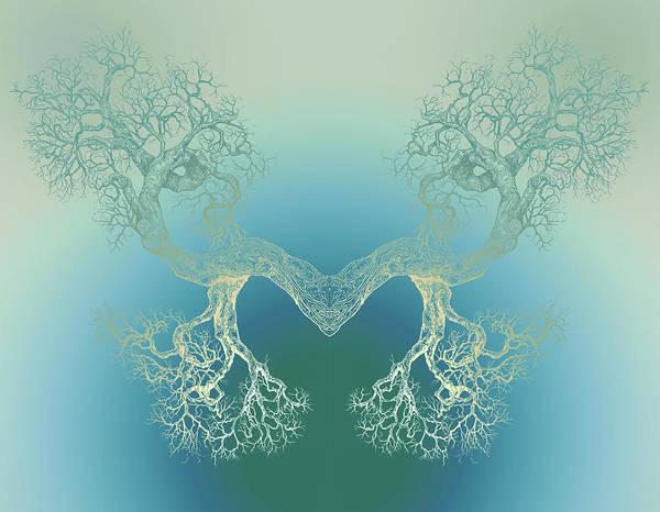 Until It Makes You See Tree9 Art Print