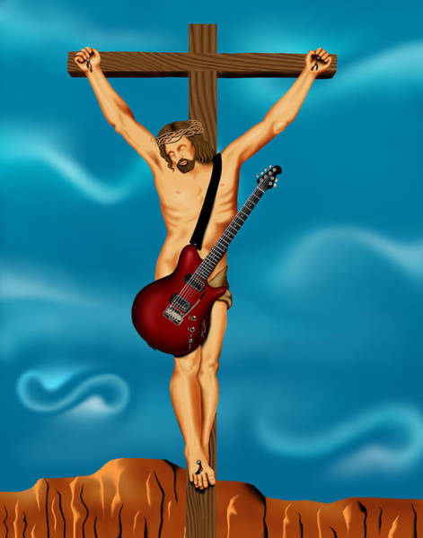 Until There Was Rock You Only Had God Art Print