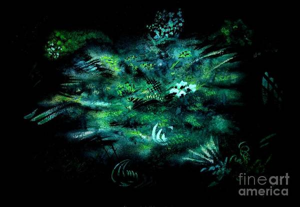 Painting - Algae by Tamal Sen Sharma