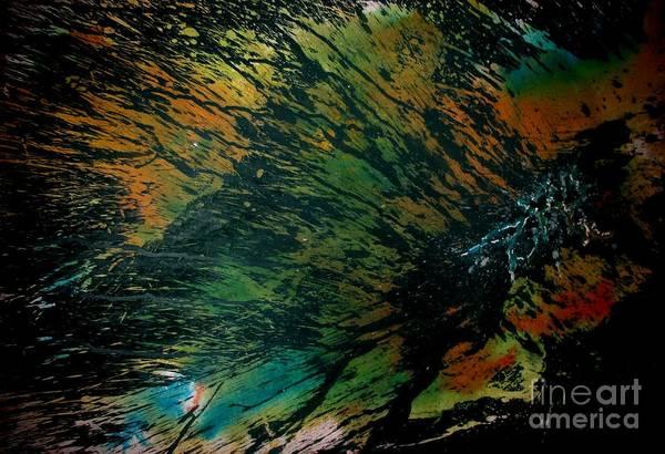 Painting - Lava Sroth by Tamal Sen Sharma