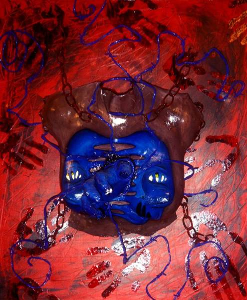 Chest Pain Painting - Untitled 2 by Karissa Bishop