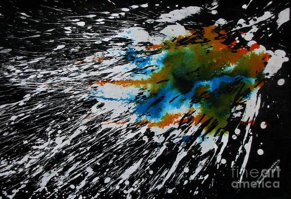Painting - Galaxy by Tamal Sen Sharma