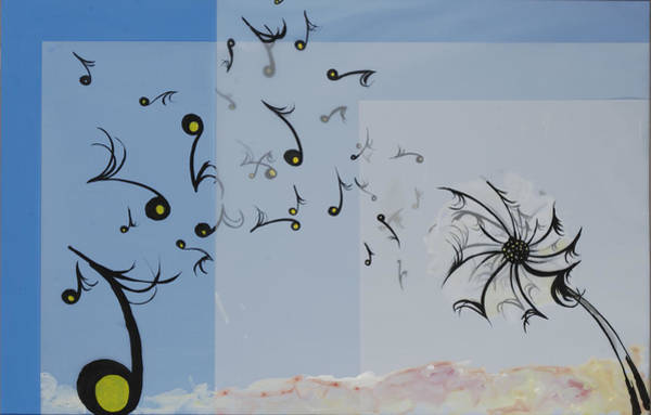 Dandilions Painting - Untitled by Anthony  Bradley