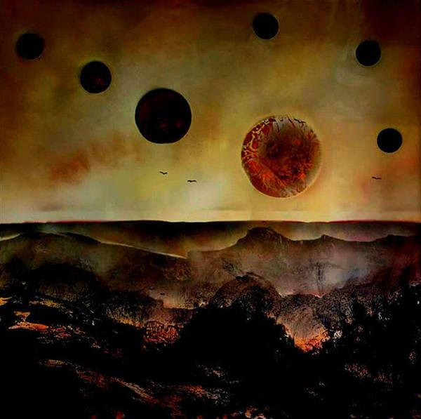 Michael Ferguson Wall Art - Painting - Untitled-aug16 by Michael Ferguson