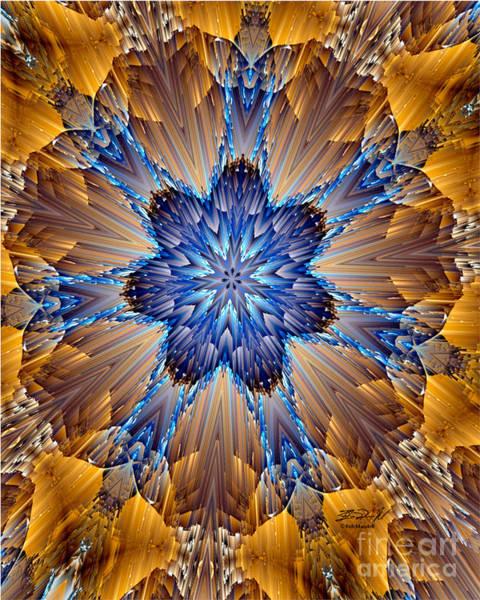 Digital Art - Untitled Blue by Rob Mandell