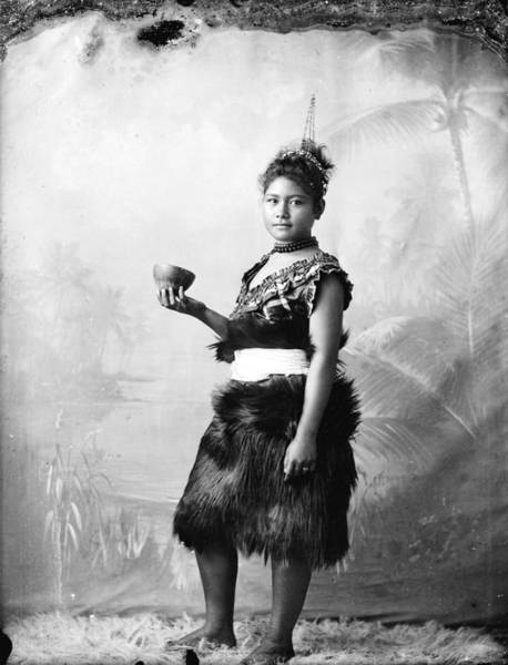 Untitled Painting - Untitled, Circa 1896, Samoa, By Thomas Andrew. by Celestial Images