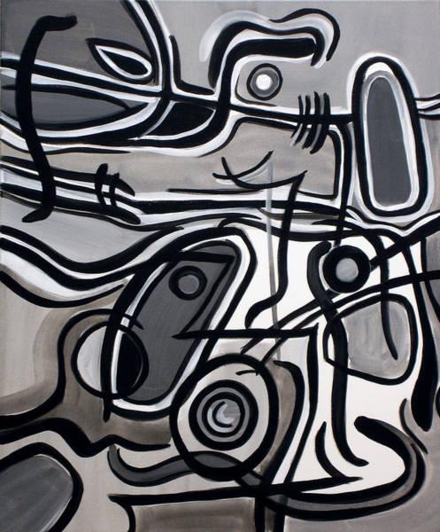 Painting - Untitled Gray by Lynda Lehmann