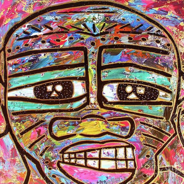 Painting - Untitled Iv by Odalo Wasikhongo